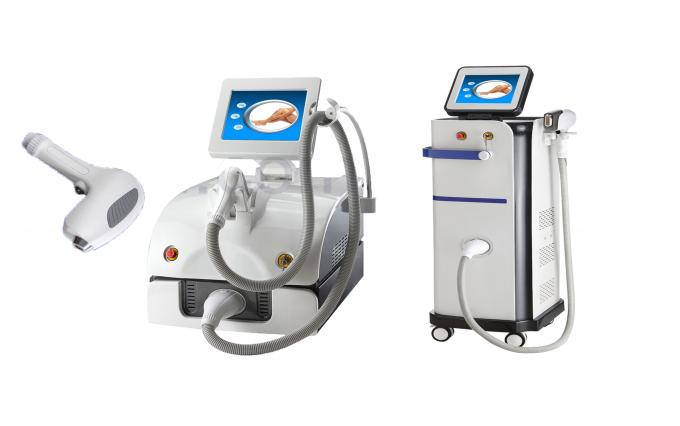 High Power 10 Bars 808nm Diode Laser Hair Removal Machine With Microchannel Cooling System