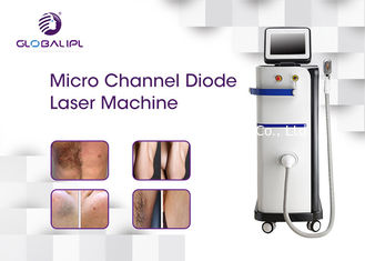 808nm Diode Mesin Laser Hair Removal Komersial Micro Channel Permanen
