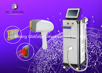 Cina Mikro Channel 808nm Diode Laser Hair Removal Stationary Style pemasok