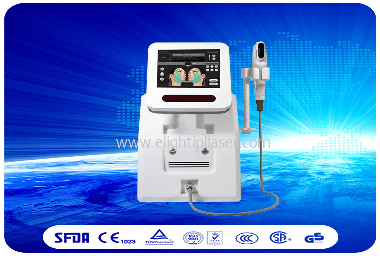3 Heads HIFU Machine Face Lifting Equipment Abdomen Cellulite Reduction