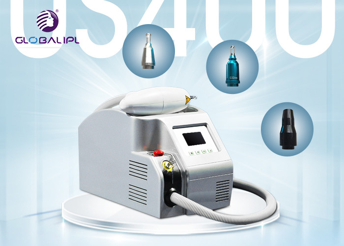 Sapphire / Ruby Q Switched ND YAG Laser Tattoo Removal Machine 1400mj , 1064nm / 532nm