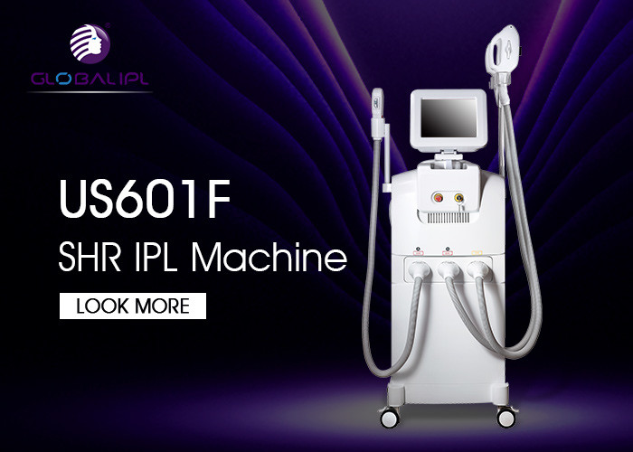 Vertical Laser Body Hair Removal Machine SHR IPL With CE Certificate