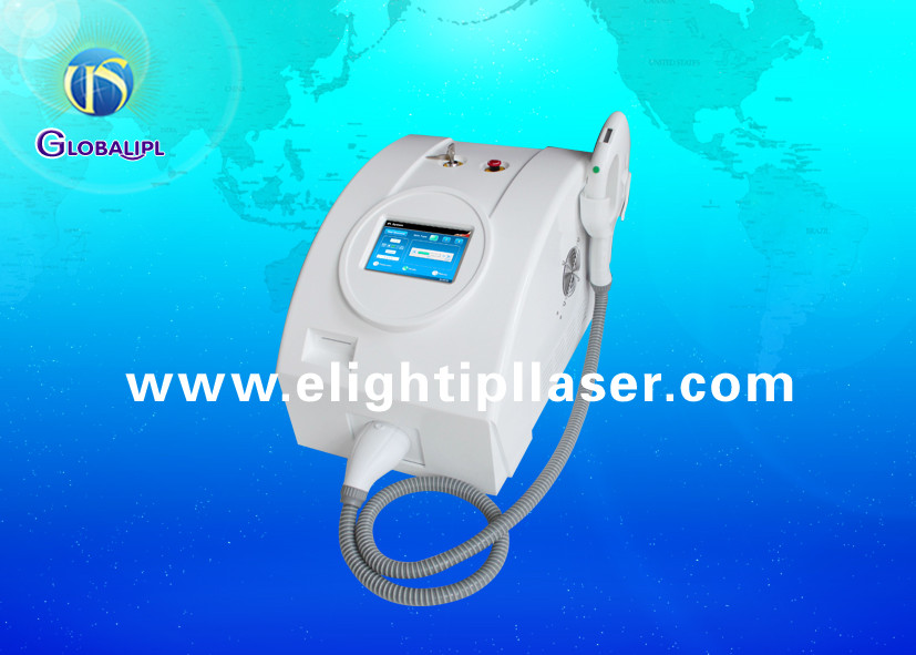 3MHz Underarm E Light IPL RF Permanent Hair Remover With Touch Cooling