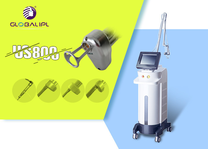 50W Skin Resurfacing CO2 Fractional Laser Machine Fractional Photothermolysis Theory