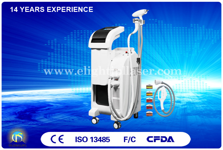 Bipolar E Light IPL RF Skin Tightening Machine Easy Installation