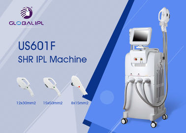 Cina Hair Removal SHR IPL Mesin OPT 10,4 Inch Touch Color LCD Display pabrik