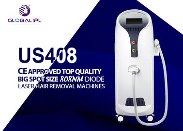 Mesin Penghilang Rambut 1000 Diode Laser Hair Big Spot Ukuran 5-400ms Adjustable