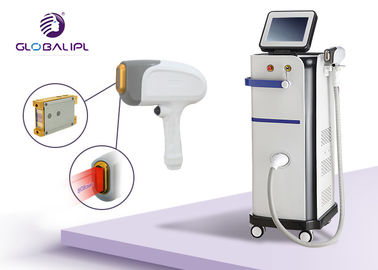 Cina Two Handle Three Wavelengths Laser Hair Removal Equipment Professional 1 - 10Hz Frekuensi pabrik